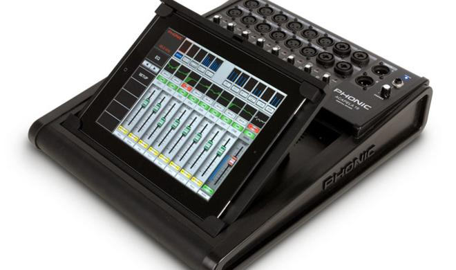 Phonic Acapela 16 - Digitalmixer mit Tablet- und Desktopsteuerung