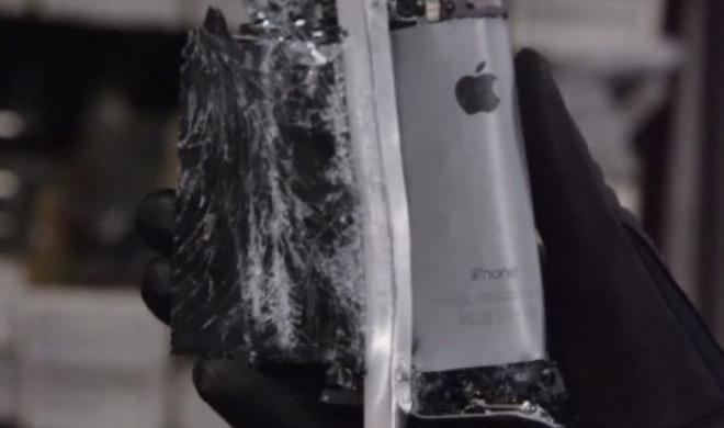 Netzfundstück: Das iPhone 5s unter Druck