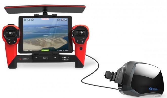 Parrots Bebop-Drohne mit HD-Kamera, Virtual-Reality-Unterstützung