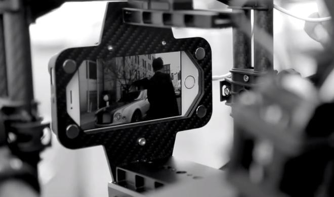 Luxus-Automarke Bentley dreht einen Dokumentarfilm mit iPhone 5s und iPad Air