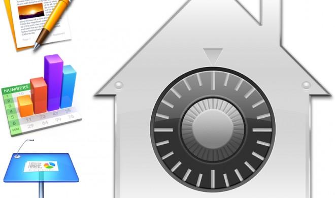 Passwort-Schutz für iWork-Dokumente einrichten
