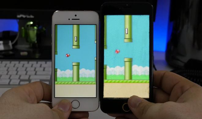 So könnte iOS auf einem iPhone-6-Display mit 4,7-Zoll-Bildschirmdiagonale aussehen