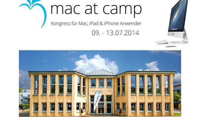 mac at camp 2014: Bald ist es soweit!