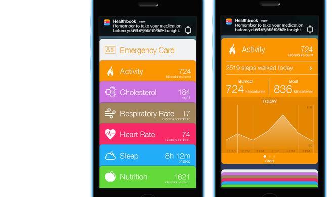 iOS-8-Vorgeschmack: Healthbook-App schon heute ausprobieren