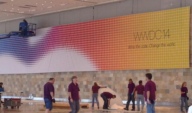 WWDC 2014: Die ersten Banner hängen
