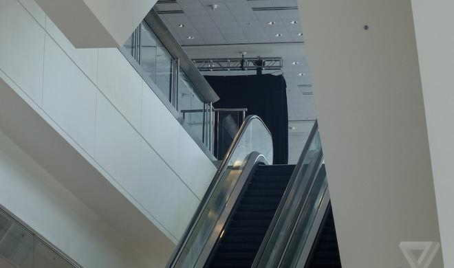 Verhüllte Banner auf der WWDC 2014 entdeckt