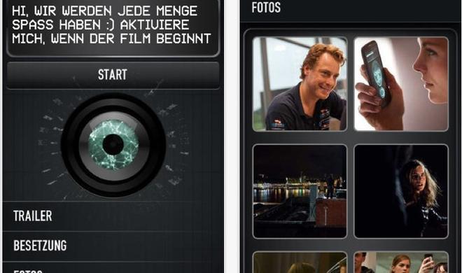 """Heute Abend im ZDF: """"APP"""", der erste Kinofilm mit App-Anbindung"""