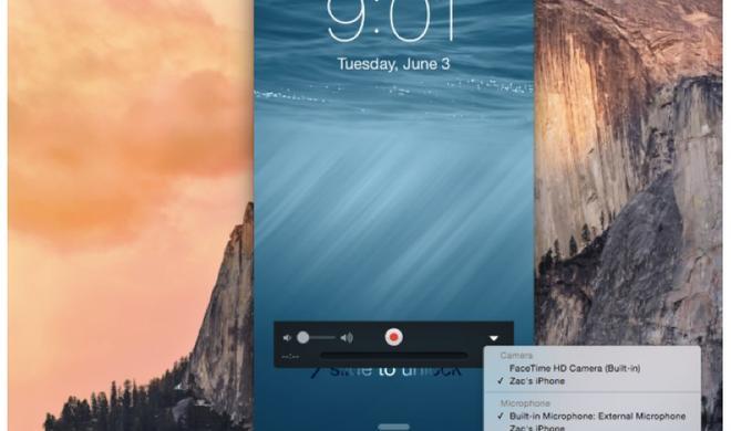iOS 8 und OS X Yosemite: App-Screencasts leicht gemacht