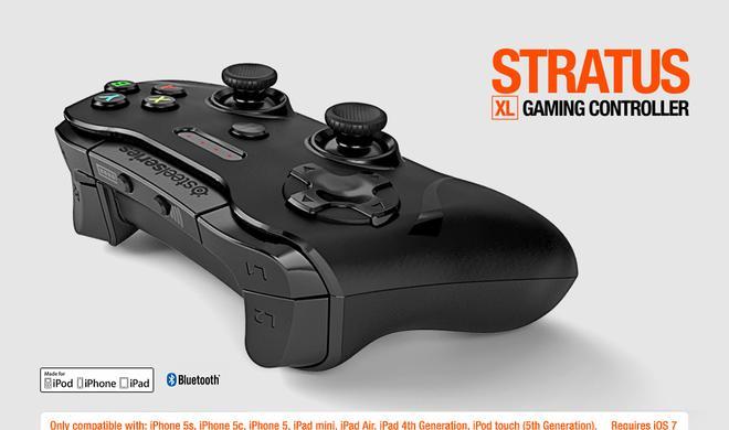 Stratus XL: Zweiter iOS-Bluetooth-Controller von SteelSeries