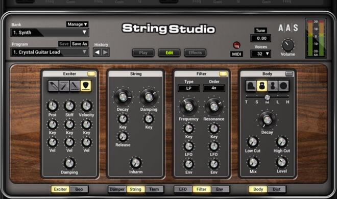 String Studio VS-2 - Physical Modeling Synth