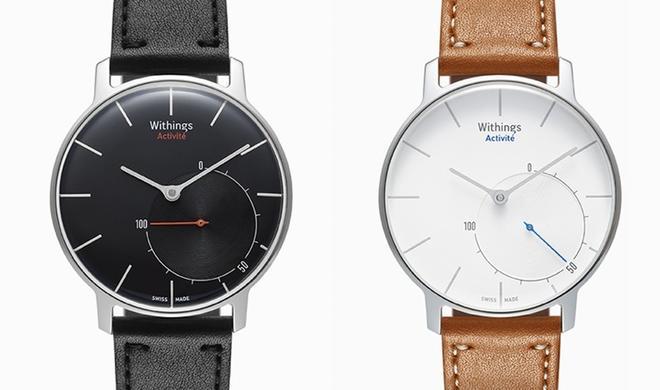 Activité: Withings kombiniert Fitness-Tracker mit zeitlosem Uhrendesign
