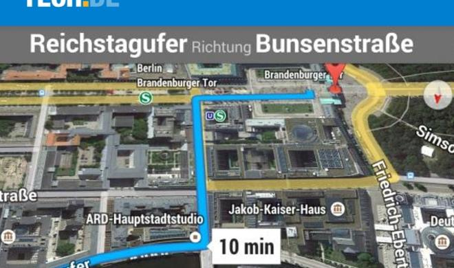 [Lesetipp] Google Maps optimal als KFZ- und Fußgänger-Navi nutzen