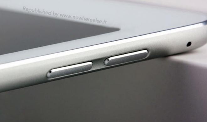 iPad Air: Foto zeigt überarbeitetes Modell mit Touch ID