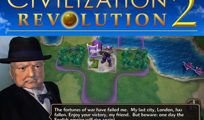 2K kündigt Sid Meier's Civilization Revolution 2 für iOS an
