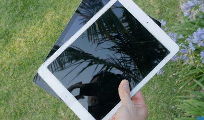 iPad-6-Mockup und iPad Air im Videovergleich