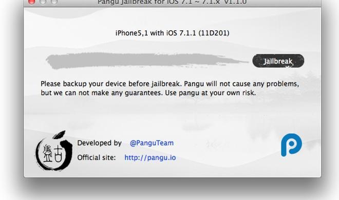Pangu: iOS 7.1.1-Jailbreak ab sofort mit englischer Mac-App