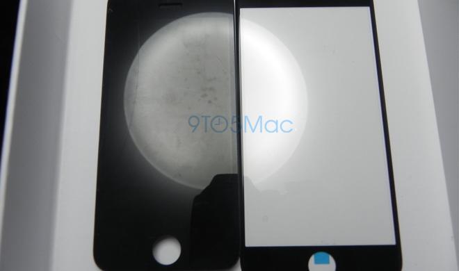 iPhone 6 und iPhone 5s: Foto zeigt Frontblenden im Vergleich