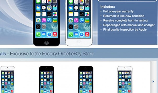 Apples geheimes Factory-Outlet