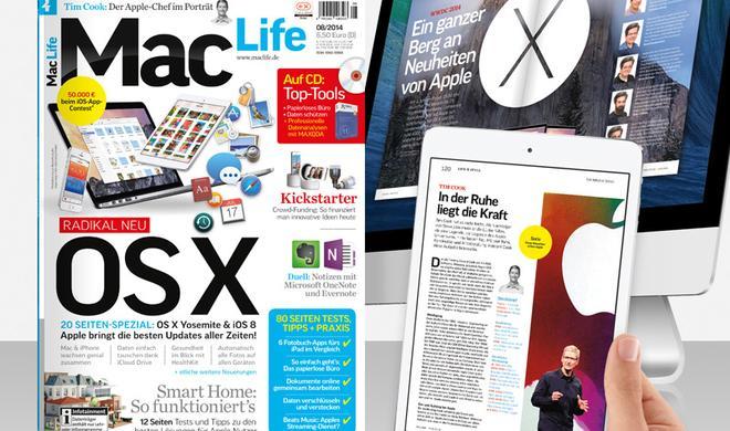 OS X Yosemite, Smart Home, Crowd-Funding, Tim Cook im Porträt und vieles mehr