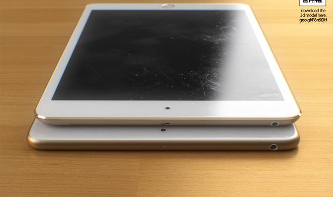 """Designstudie in Gold: Das iPad mini im """"Soft Design"""""""
