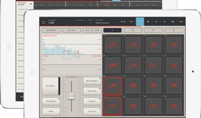 Akai iMPC Pro - Sampler App mit 64-Spur Sequenzer