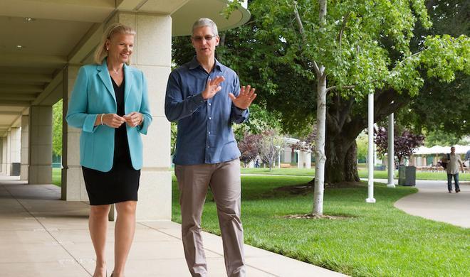 Apple und IBM gehen weltweite Partnerschaft für iOS-Geschäftskundendienste ein