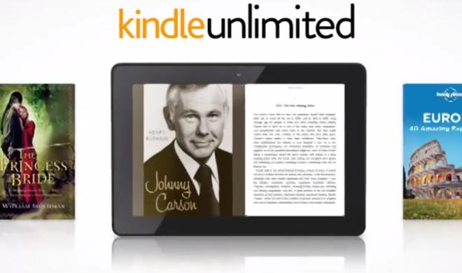 "Amazon testet ""Kindle Unlimited"" eBook-Abo-Dienst"