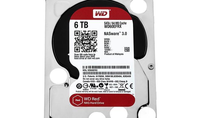 NAS-Festplatten: WD Red ab sofort auch mit 5 TB und 6 TB Kapazität erhältlich