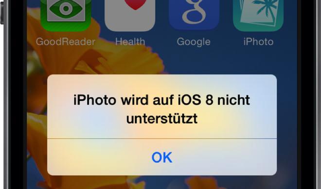 Wechsel von iOS-iPhoto auf Fotos: Fotobücher, Diashows, Tagebücher fallen weg