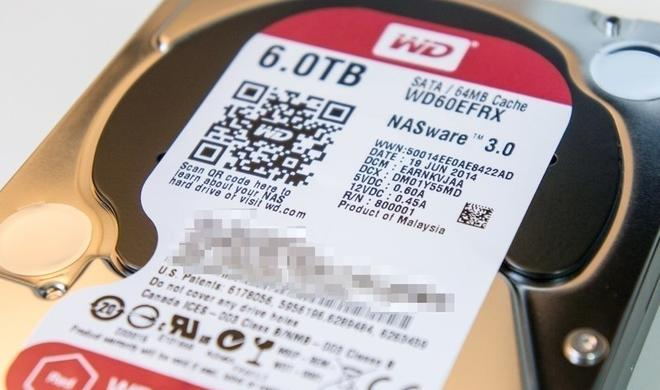Kurztest: WD Red 6 TB (WD60EFRX)