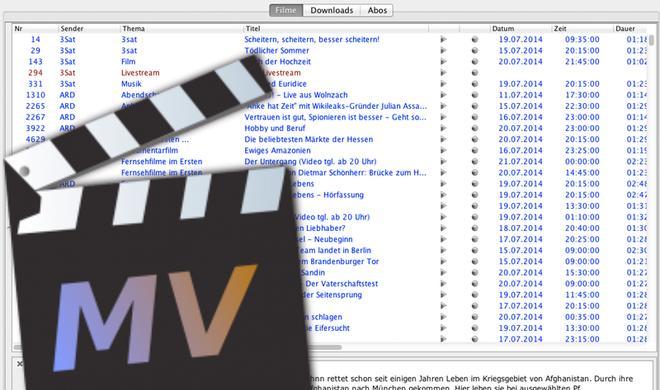 Sendungen aus den Mediatheken von ARD, ZDF und Co. finden und runterladen