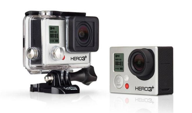 GoPro HERO3+ Black Edition - Action-Cam