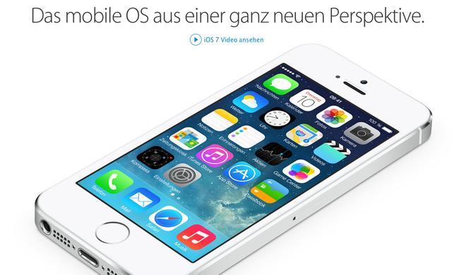 iOS 7 Verbreitung erreicht 90 Prozent