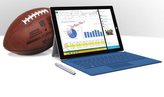 Kostenlose Werbung für Apple: NFL-Kommentatoren verwechseln das Microsoft Surface mit dem iPad
