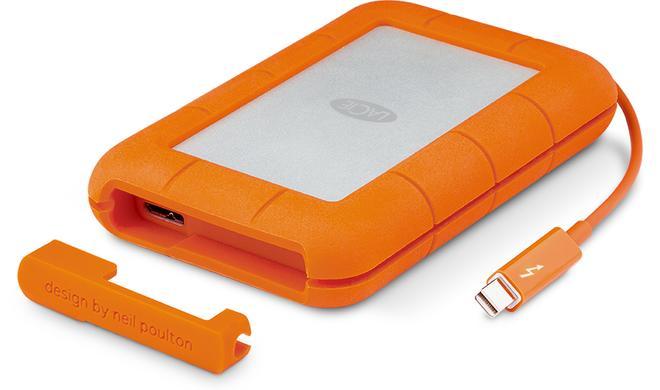 LaCie verdoppelt Speicherkapazität der Rugged Thunderbolt SSD auf 1 TB