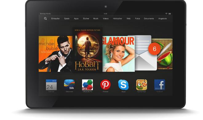iPad vs. Kindle Fire HDX 8.9: Amazons Tablet als Alternative?