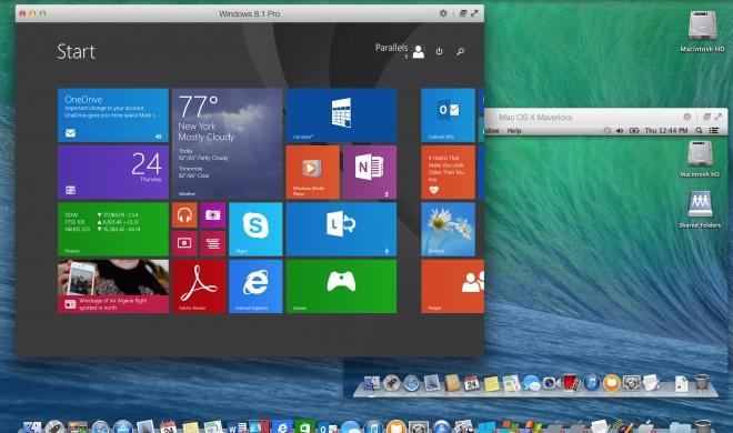 Parallel Desktop 10 für Mac veröffentlicht: Virtualisierungs-Software unterstützt Yosemite-Integration und schont den Akku