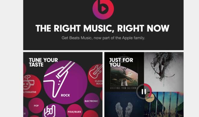 Apple zerrt Beats mit aller Gewalt in die erste Reihe