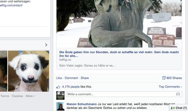 Gegen Heftig, Buzzfeed & Co.: Facebook erschwert Clickbaiting