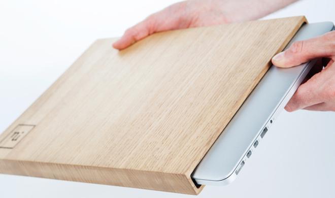 NuiCase: MacBook-Pro-Schutzhülle aus edlem Holz erfolgreich finanziert