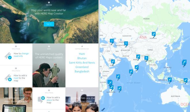Offline-Navigationssystem Nokia HERE kommt für iOS