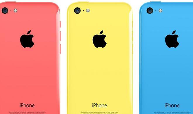 """iPhone 5c jetzt zum """"Schnäppchenpreis"""""""