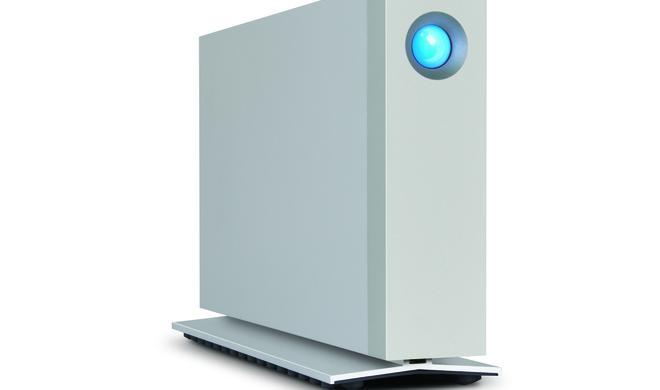 LaCie d2: Festplatte mit SSD-Kombinationsmöglichkeit erreicht rasante Datenrate von 1.150 MB pro Sekunde