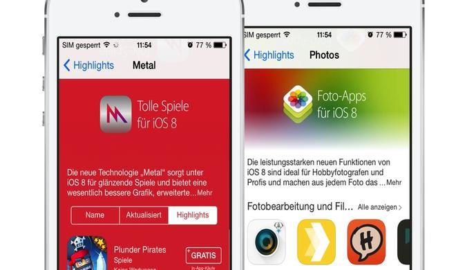 Apple veröffentlicht App-Tipps für iOS 8 und führt App-Bundles ein