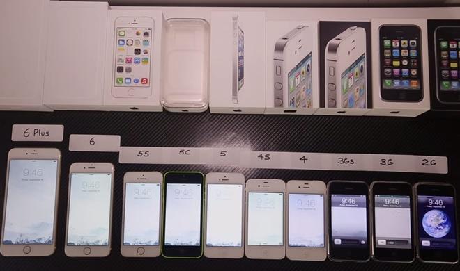 Video: Vom iPhone 2G bis zum iPhone 6 Plus: Alle Geräte-Generationen im Vergleich