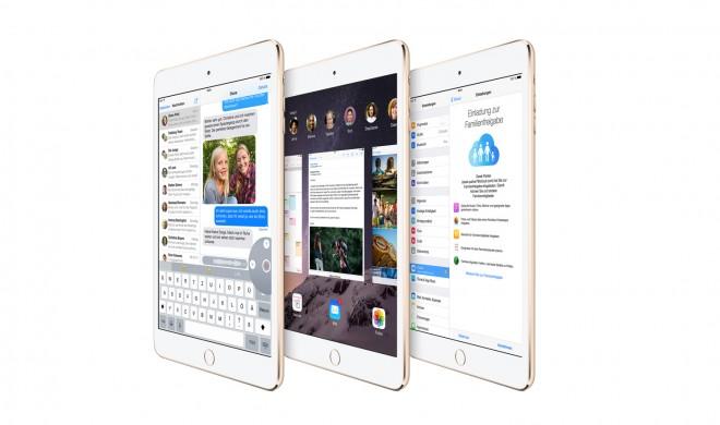 iPad mini 3: iPad mini 2 mit Touch ID