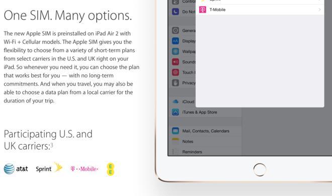 Apple startet in den USA und UK mit eigener SIM-Karte