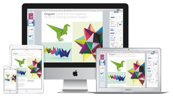 iWork-Update für OS X 10.10 Yosemite und iOS 8