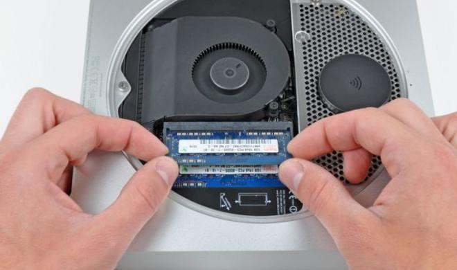 Mac mini: Arbeitsspeicher fest mit Logic Board verlötet - kein eigenhändiger Austausch mehr möglich