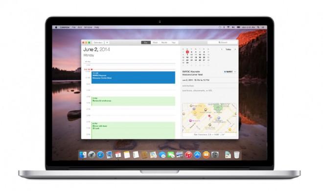 OS X 10.10 Yosemite: Der Kalender – Mehr Übersicht für Termine